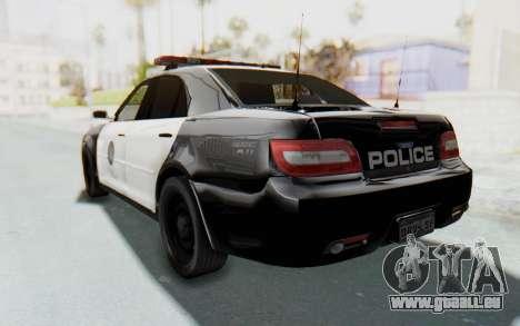 ASYM Desanne XT Pursuit v1 für GTA San Andreas zurück linke Ansicht