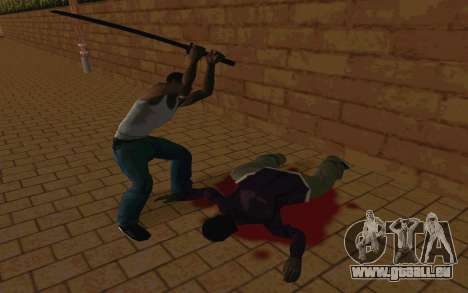 Sword of Blades pour GTA San Andreas septième écran