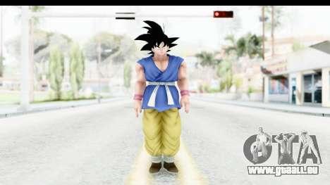 Dragon Ball Xenoverse Goku GT Adult SJ für GTA San Andreas zweiten Screenshot