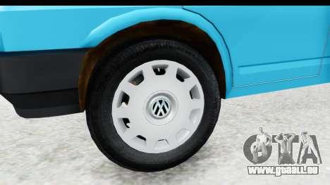 Volkswagen T4 für GTA San Andreas Rückansicht