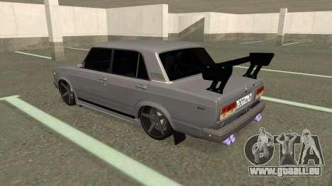 VAZ 2107 Dérive pour GTA San Andreas vue de droite
