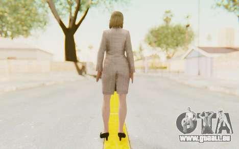 Dead Rising - Jessica McCartney für GTA San Andreas dritten Screenshot