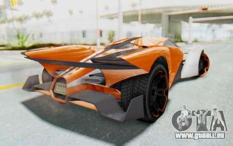 GTA 5 Grotti Prototipo v1 IVF pour GTA San Andreas laissé vue