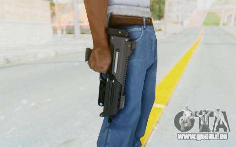 APB Reloaded - S-AS PDW pour GTA San Andreas troisième écran