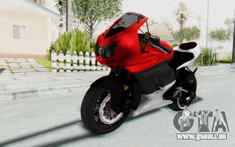 Kawasaki Ninja 250R Superbike für GTA San Andreas