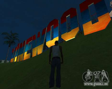 New Vinewood Armenia pour GTA San Andreas deuxième écran