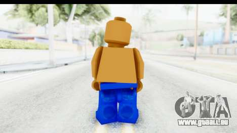 LEGO Carl Johnson für GTA San Andreas dritten Screenshot