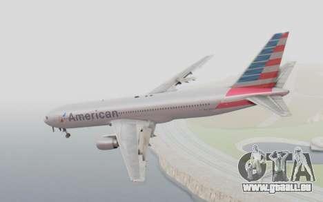 Boeing 767-300ER American Airlines pour GTA San Andreas laissé vue
