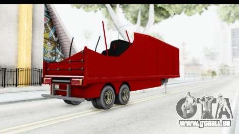 Renault Magnum TopGear Trailer für GTA San Andreas linke Ansicht