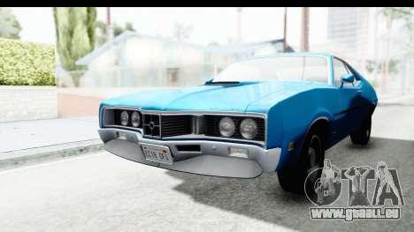Mercury Cyclone Spoiler 1970 pour GTA San Andreas vue de droite