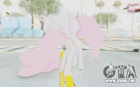 Princess Molestia MLP für GTA San Andreas dritten Screenshot