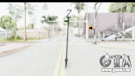 Lord Zedd Weapon pour GTA San Andreas deuxième écran