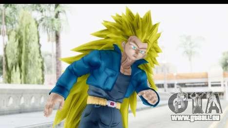 Dragon Ball Xenoverse Future Trunks SSJ3 pour GTA San Andreas