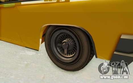 GTA 5 Declasse Voodoo PJ SA Lights pour GTA San Andreas vue arrière
