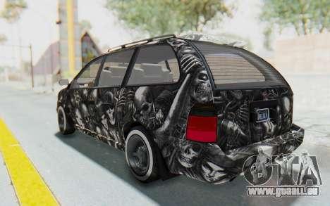 GTA 5 Vapid Minivan Custom pour GTA San Andreas