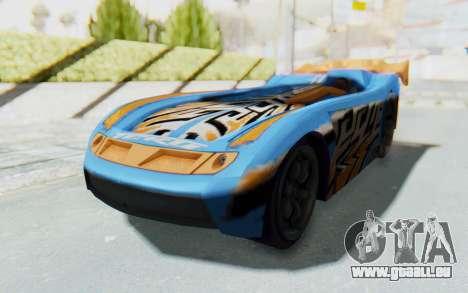 Hot Wheels AcceleRacers 1 pour GTA San Andreas vue de droite