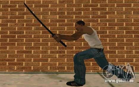 Sword of Blades pour GTA San Andreas cinquième écran