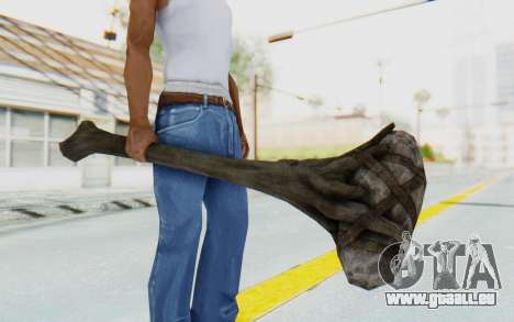 Giant Club from TES Skyrim pour GTA San Andreas