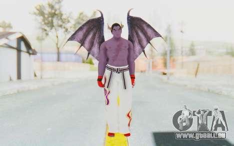 Devil Kazuya pour GTA San Andreas deuxième écran