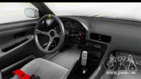 Nissan 240SX 1989 v2 pour GTA San Andreas vue intérieure