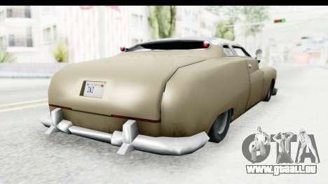 Hermes Ratrod für GTA San Andreas linke Ansicht