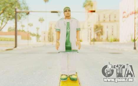 Def Jam Fight For New York - Sean Paul v1 pour GTA San Andreas deuxième écran