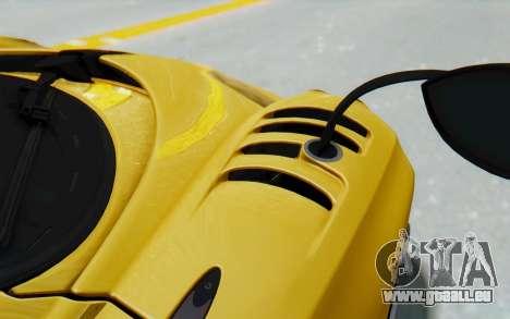 Pagani Huayra BC 2016 für GTA San Andreas Innenansicht