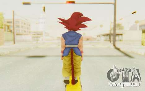 Dragon Ball Xenoverse Goku Kid GT SSG für GTA San Andreas dritten Screenshot