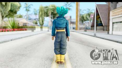 Dragon Ball Xenoverse Future Trunks SSGSS für GTA San Andreas dritten Screenshot