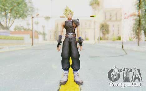 Final Fantasy - Cloud Deus pour GTA San Andreas deuxième écran
