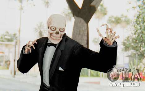 Skeleton in Tuxedo für GTA San Andreas