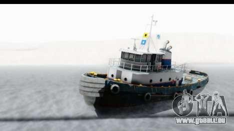 GTA 5 Buckingham Tug Boat v2 IVF für GTA San Andreas