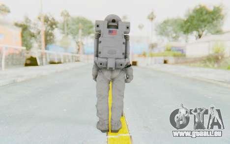 CoD Ghosts USA Spacesuit pour GTA San Andreas troisième écran