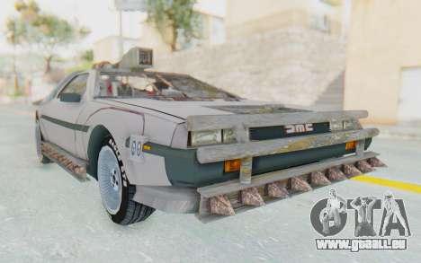 DeLorean DMC-12 2012 End Of The World für GTA San Andreas