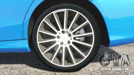 GTA 5 Mercedes-Benz C250 2014 hinten rechts