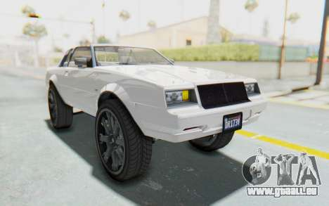 GTA 5 Willard Faction Custom Donk v2 für GTA San Andreas rechten Ansicht