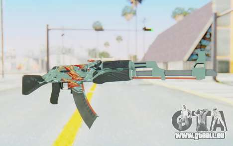 CS:GO - AK-47 Aquamarine Revenge für GTA San Andreas