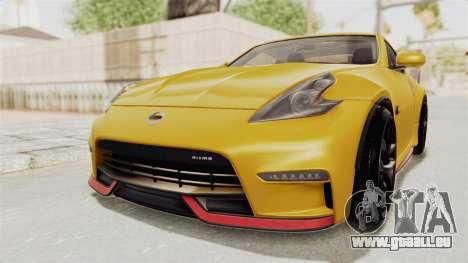 Nissan 370Z Nismo Z34 für GTA San Andreas