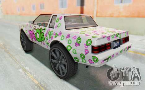 GTA 5 Willard Faction Custom Donk v3 für GTA San Andreas Räder