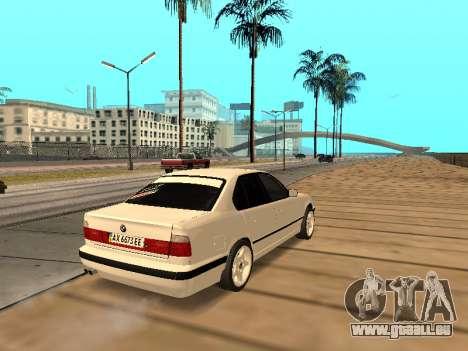 BMW E34 - EK edition pour GTA San Andreas vue de droite