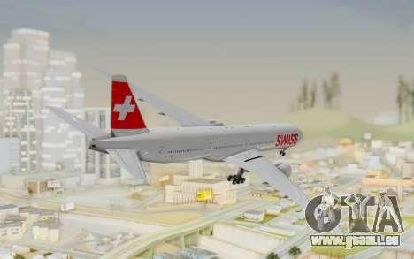 Boeing 777-300ER Swiss Global Air Lines pour GTA San Andreas laissé vue