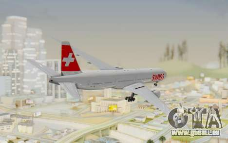 Boeing 777-300ER Swiss Global Air Lines für GTA San Andreas linke Ansicht