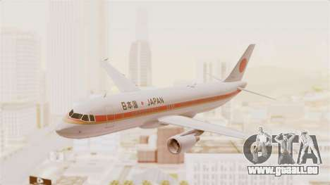 Airbus A320-200 Japanese Air Force One pour GTA San Andreas