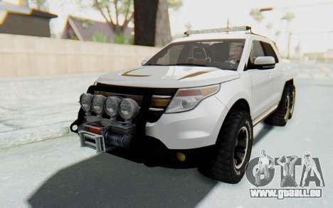 Ford Explorer Pickup pour GTA San Andreas vue de droite