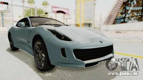 GTA 5 Grotti Bestia GTS v2 SA Lights pour GTA San Andreas