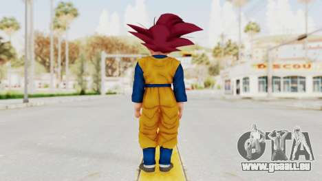 Dragon Ball Xenoverse Goten SSG für GTA San Andreas dritten Screenshot