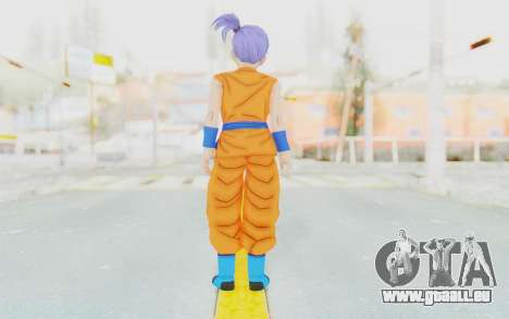 Dragon Ball Xenoverse Female Saiyan SJ für GTA San Andreas dritten Screenshot
