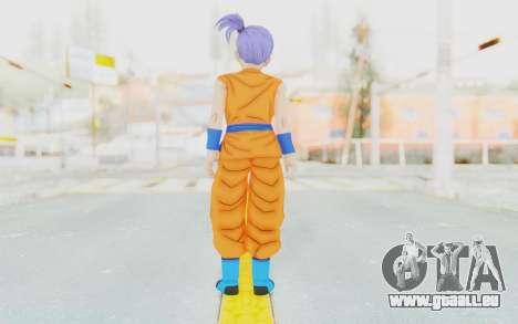 Dragon Ball Xenoverse Female Saiyan SJ pour GTA San Andreas troisième écran