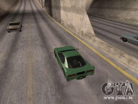 D'avance pour GTA San Andreas troisième écran