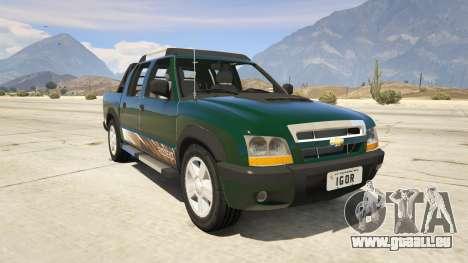 2011 Chevrolet S-10 Rodeio pour GTA 5